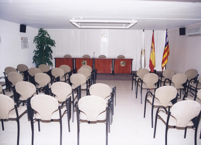 fotografía de la sala pitiüses